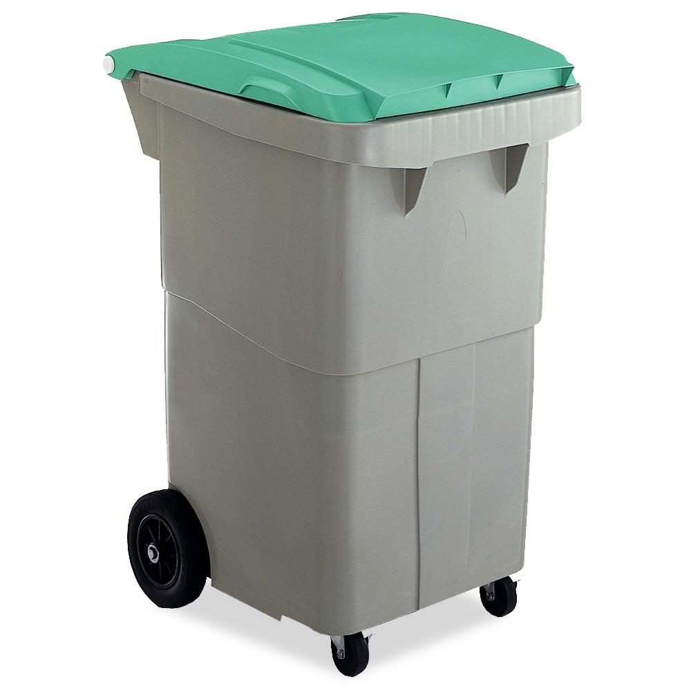 テラモト リサイクルカート#200 搬送型 グリーン (代引不可) DS-224-520-1