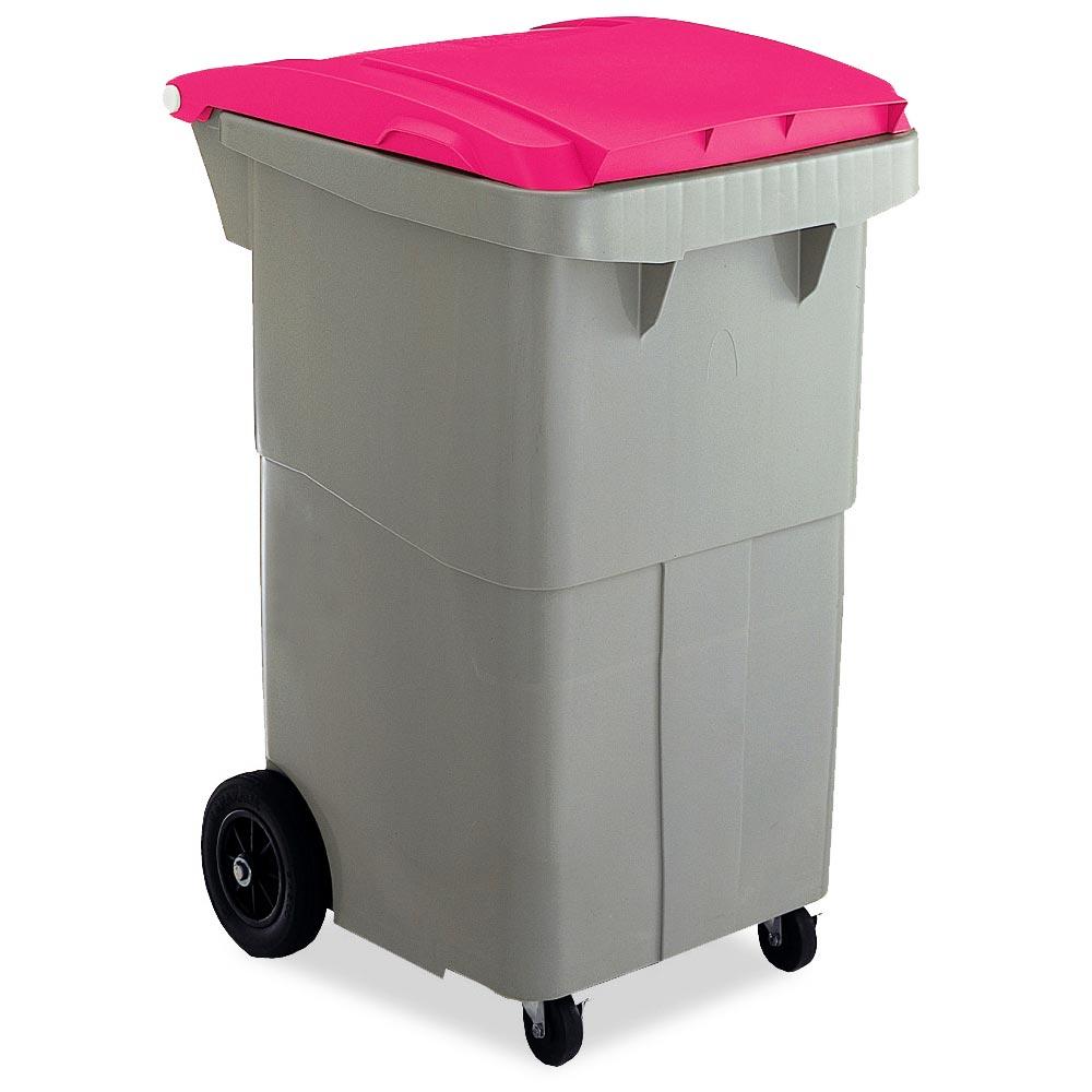 【単品配送】 テラモト リサイクルカート#200 搬送型 レッド (代引不可) DS-224-520-2