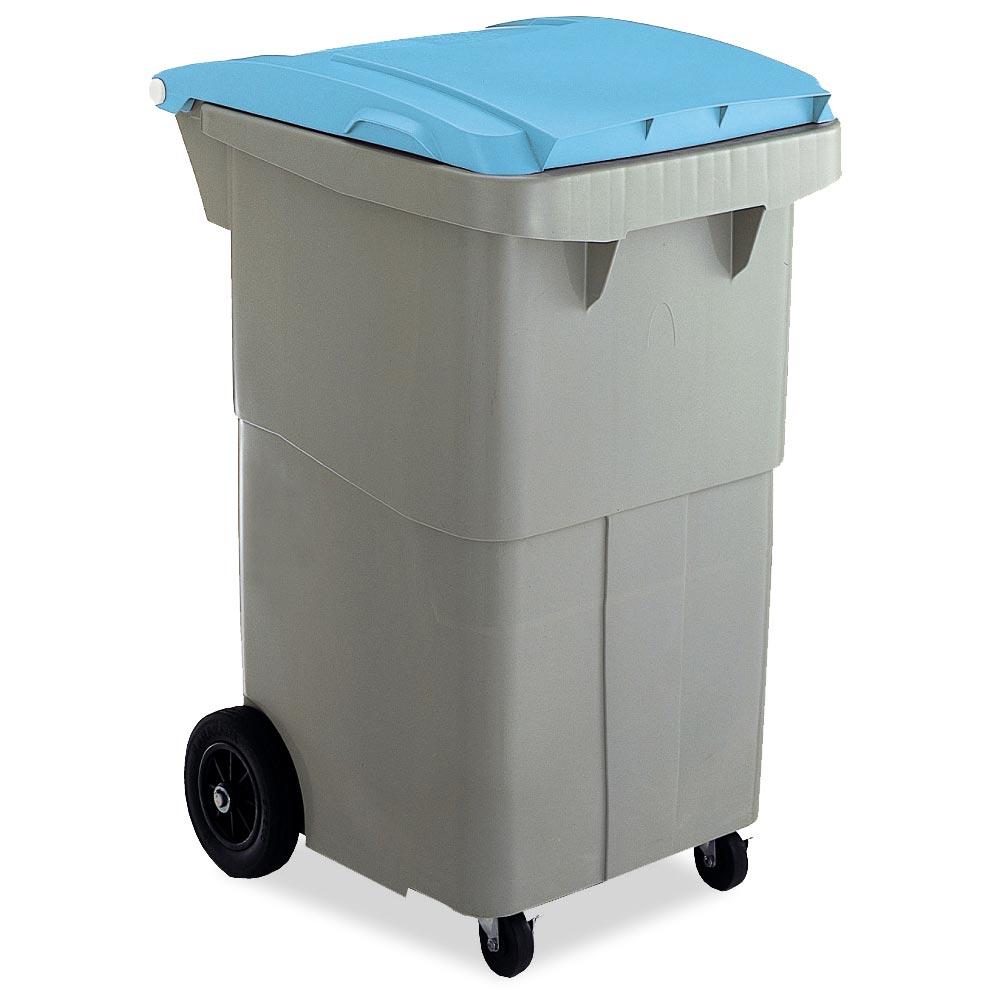 【単品配送】 テラモト リサイクルカート#200 搬送型 ブルー (代引不可) DS-224-520-3