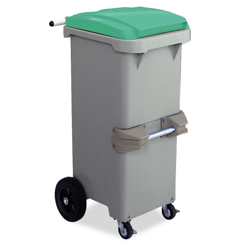 テラモト リサイクルカート#110 反転型 グリーン (代引不可) DS-224-611-1