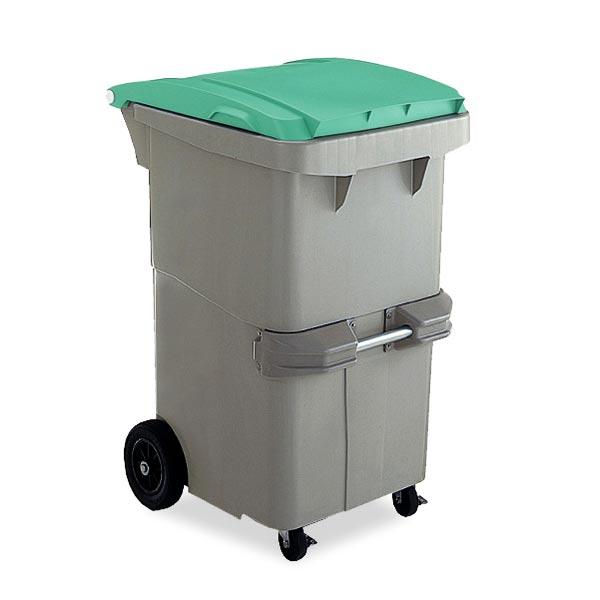 テラモト リサイクルカート#200 反転型 グリーン (代引不可) DS-224-620-1