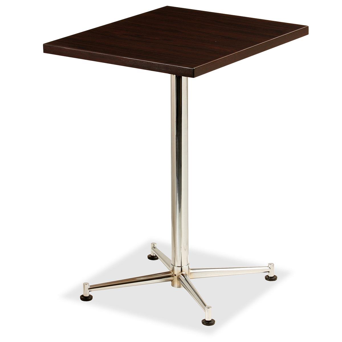 テラモト テーブル KBT-6050M BR ブラウン OT-630-005-4