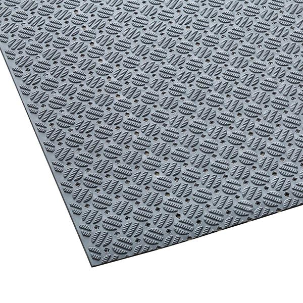 テラモト ダイヤマットAL 灰 92cm×10m MR-143-301-6