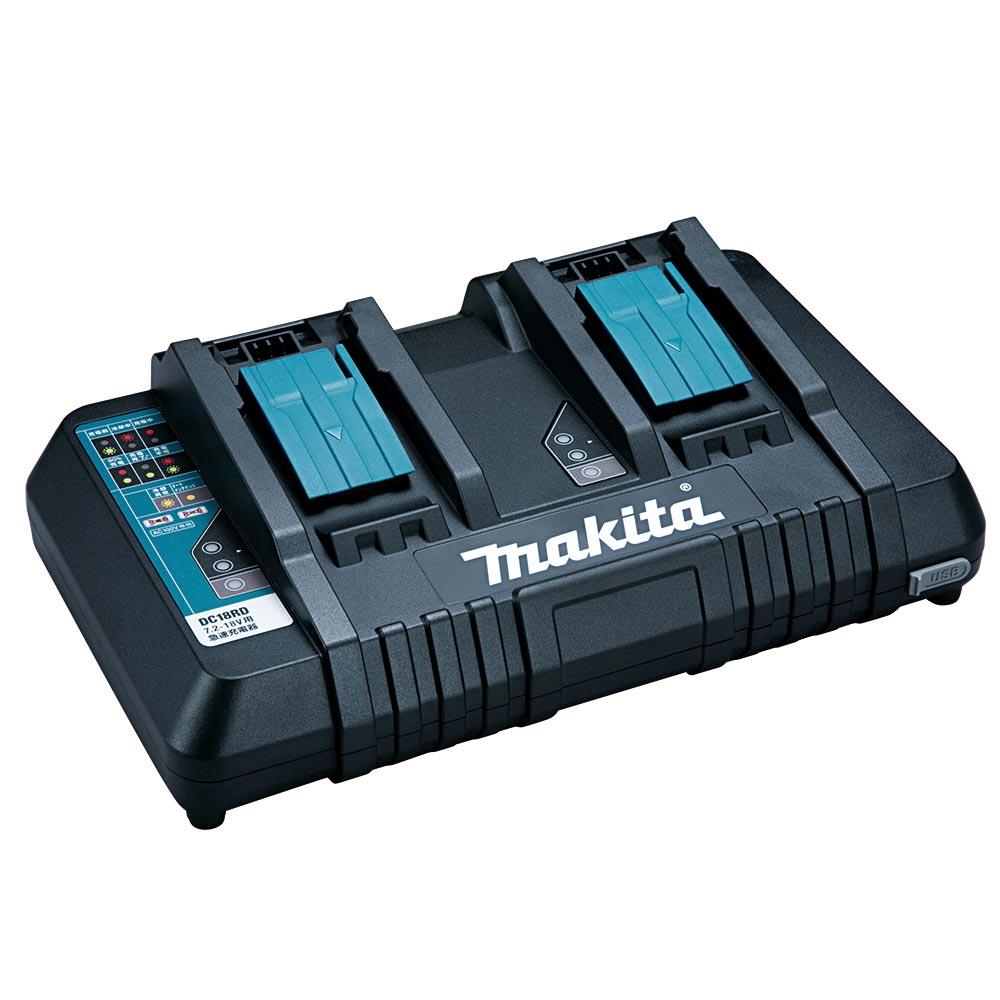 テラモト マキタ バッテリー充電器 DC18RD(2本用) JPADC18RD EP-525-420-0