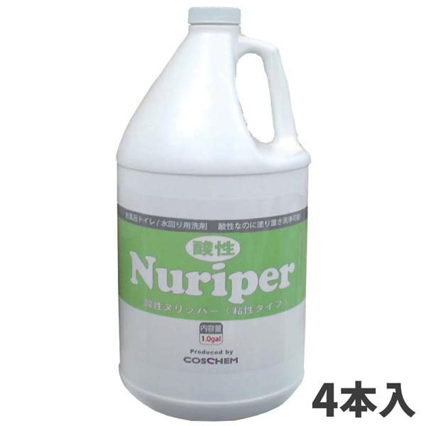 TOSHO 酸性ヌリッパー 3.78L (4本入) co-0013