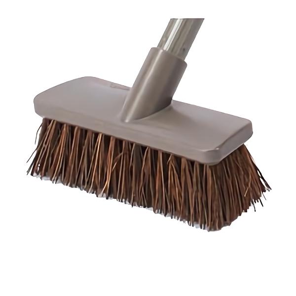 業務用 掃除 清掃 デッキブラシ 単品配送 9 上質 16までセール価格 山崎産業 シダ 清掃用品 代引不可 市販 50個入 スペア @1個あたり CL715-180U-SP 18 \259