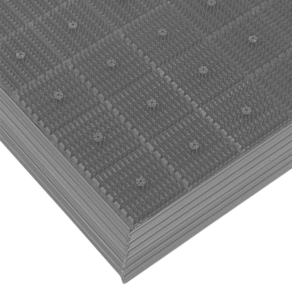 山崎産業 エバック スターマット オーダーサイズ細幅縁 1平米/価格 GR(灰) (代引不可) F-9-OR-FS
