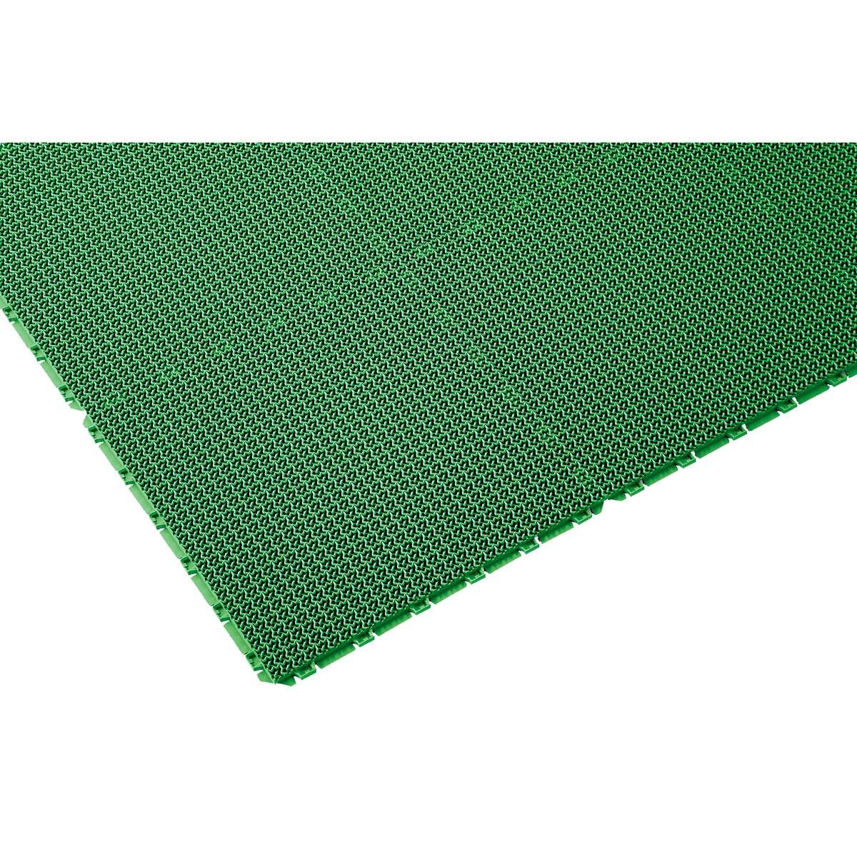 山崎産業 ブイステップマット13 オーダーサイズ縁なし 1平米/価格 G(緑) F-126-OR