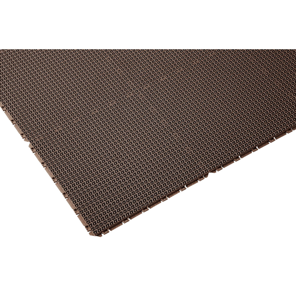 山崎産業 ブイステップマット13 オーダーサイズ縁なし 1平米/価格 BR(茶) F-126-OR