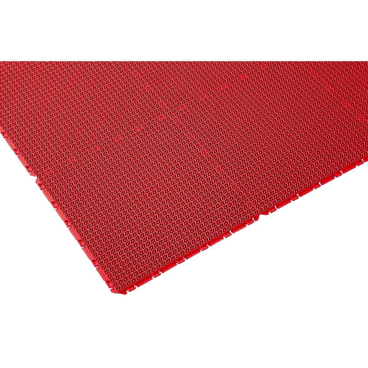 山崎産業 ブイステップマット13 オーダーサイズ縁なし 1平米/価格 R(赤) F-126-OR