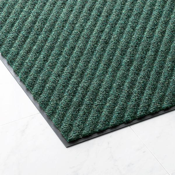 【単品配送】 山崎産業 ロンハードマット NP-100 #15 900×1500mm G(緑) F-128-15-G