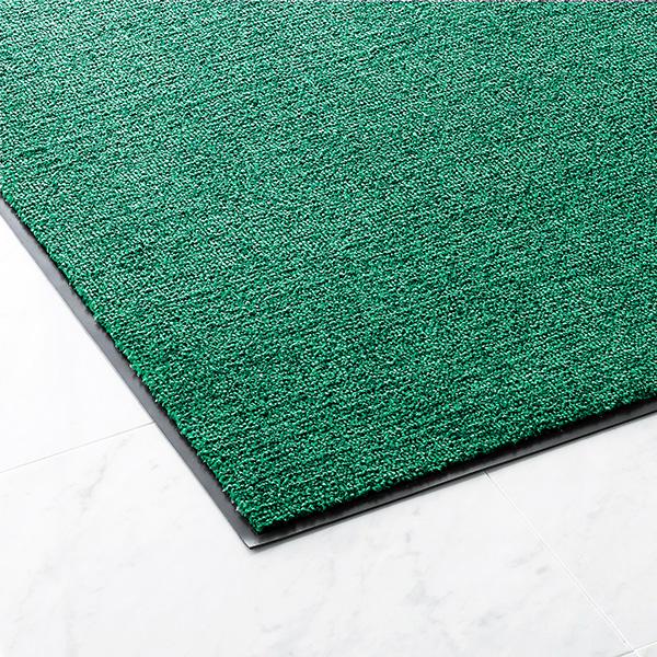 【単品配送】 山崎産業 ニュー吸水マット #18 900×1800mm G(緑) F-176-18-G