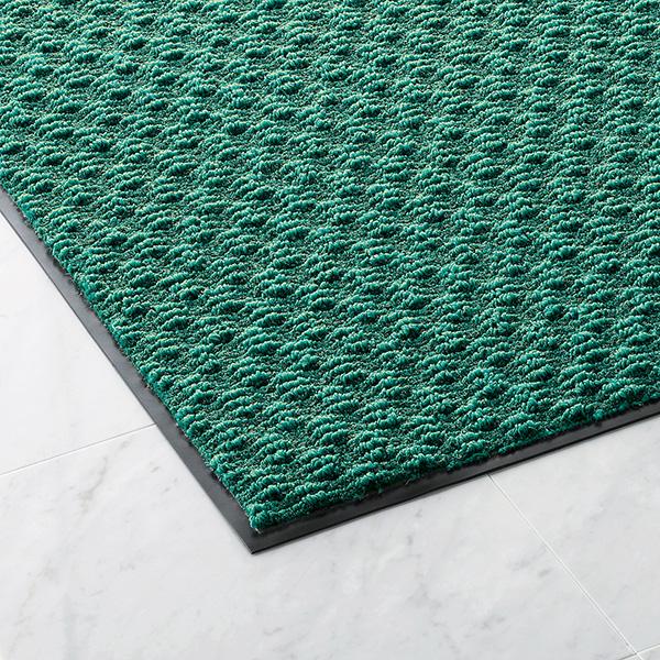 【単品配送】 山崎産業 ロンステップ 吸水マット300 #12 900×1200mm G(緑) F-125-12-G