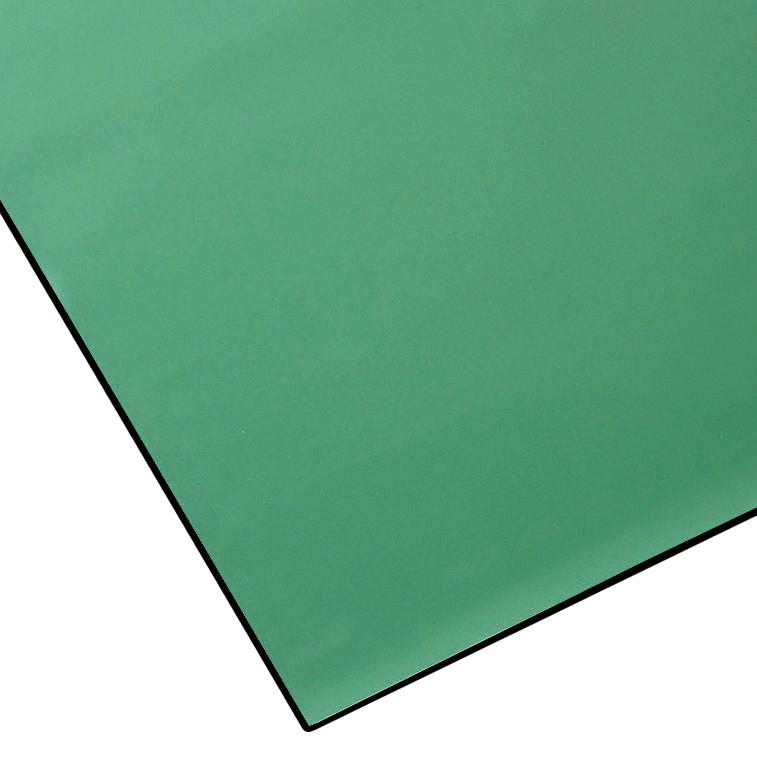 山崎産業 導電ラバーシート 3mm厚 1m×10m 緑 (代引不可) F-184-2-3
