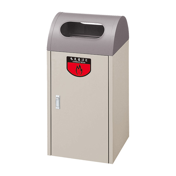 【単品配送】 山崎産業 リサイクルボックス A-1 EBR(アースブラウン) YW-04L-ID-EBR