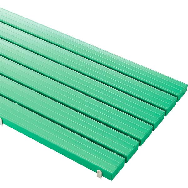 山崎産業 YS カラースノコ セフティ抗菌 キャップ付 オーダーサイズ 1平米価格 G(緑) (代引不可) F-115-3-OR-2