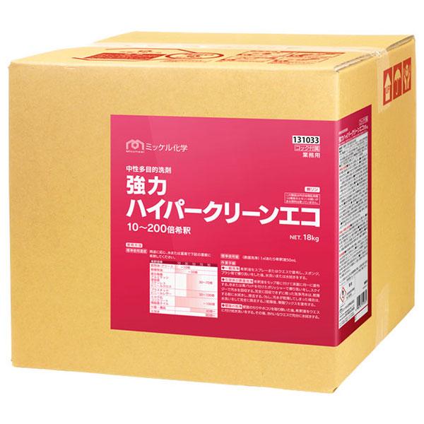 【単品配送】 ユーホーニイタカ 強力ハイパークリーンエコ 18L(缶) 131031