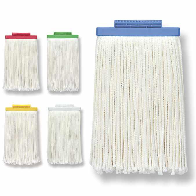 お掃除用のモップ糸 激安モップ糸 モップ替糸 ヨリクロモップ 幅17cm セイワ MSS-6200 清掃 モップ お掃除 業務用 全国一律送料無料 送料無料でお届けします
