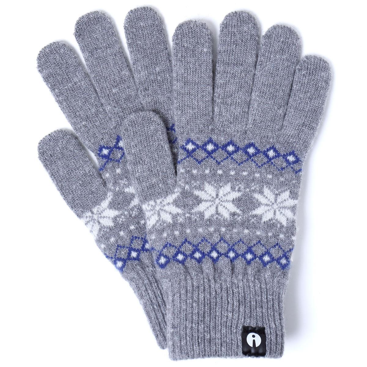 爆売りセール開催中 3 980円以上で送料無料 iTouch Glovesのスマホ手袋 Lサイズ 2019-2020新作がおしゃれ スマホ手袋 Gloves 2019-2020新作 ジャカード スマホ対応手袋 海外並行輸入正規品 メンズサイズ アイタッチグローブ タッチパネル操作 スマートフォン対応 ウール グレー