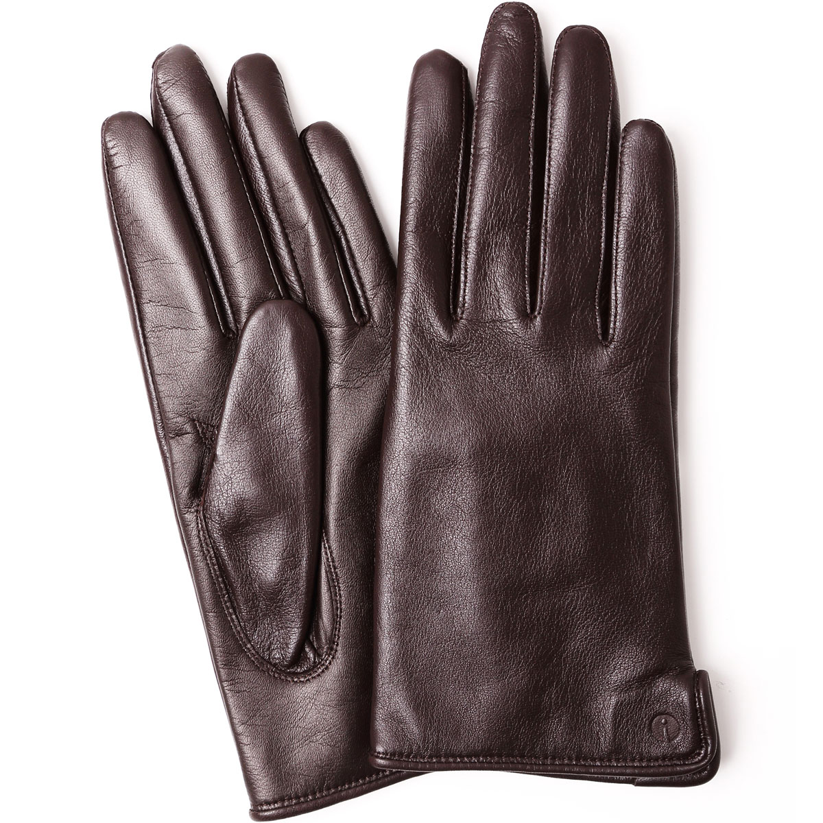 手袋 iTouch Gloves Leather S レディース 2019-2020新作 スマートフォン・タブレット対応 手ぶくろ 機能性手袋 スマホ タッチパネル対応 アイタッチグローブ 本革レザー Sサイズ 女性用 ブラウン