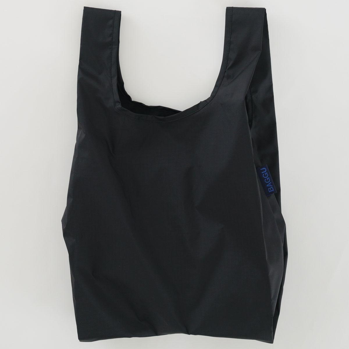 3 980円以上で送料無料 BAGGUのエコバッグ BABY BAGGU 無地 ブラックがおしゃれ 激安超特価 折りたたみ ショッピングバッグ エコバッグ ブラック ベビー バグゥ スーパーセール期間限定