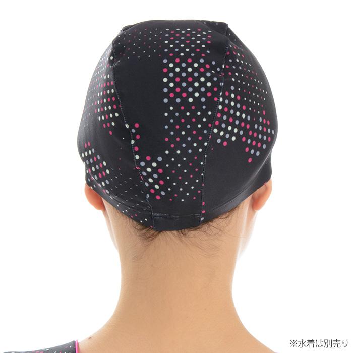 FILA 헬스 수영 모자 도트 여성용