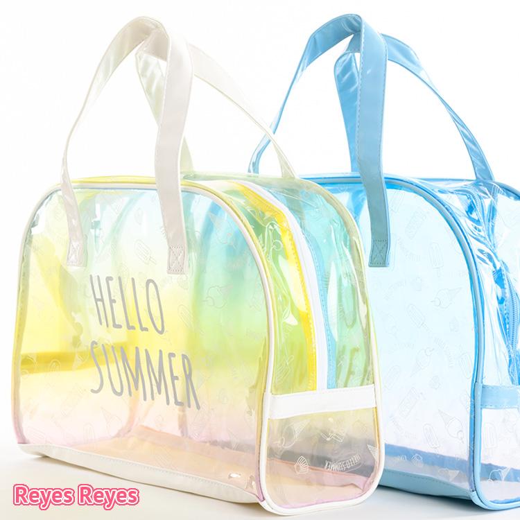 Child Kids Pool Bag Beach Vinyl Of The Reyes Boston Clear Woman