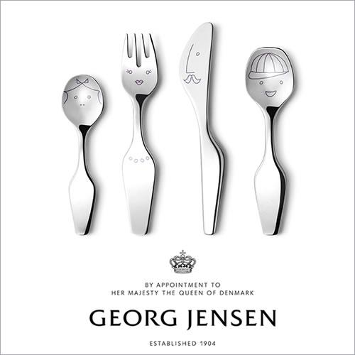 Georg Jensen ジョージ ジェンセン ツイストファミリー カトラリー 4本セット(3580049)_dp10