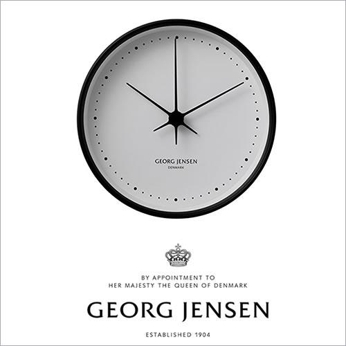 Georg Jensen ジョージ ジェンセン コッペル(KOPPEL) ウォールクロック ホワイトダイヤル (22CM)(3587576)_dp10