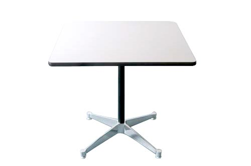 HM_Herman Miller Herman Miller contract-based square table 760 height 70 cm / white