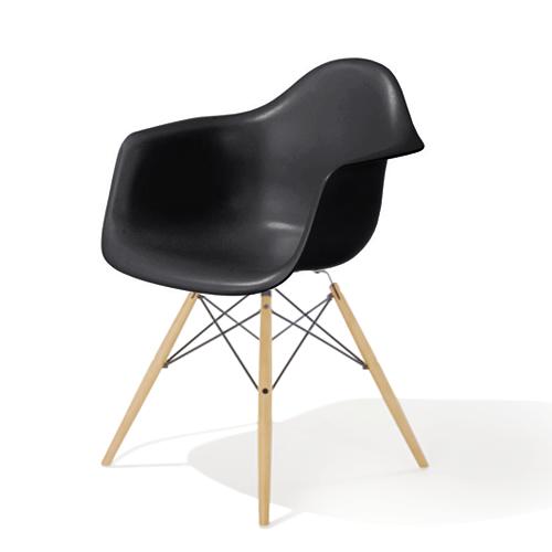 EU8-00 Herman Miller ハーマンミラーEames Shell Chairs イームズ アームシェルチェアDAW/ブラック/メープル DAW.BK.UL.ZA.E8【送料無料】_dp05