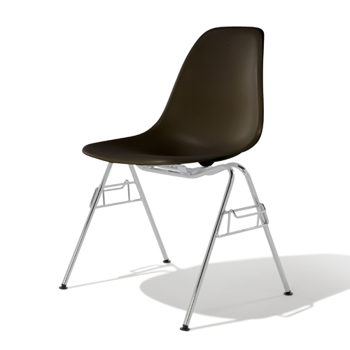 E3-0 Herman Miller ハーマンミラー Eames Shell Chairs イームズ シェルサイドチェア DSS/ブラック DSSCHZA【送料無料】_dp05