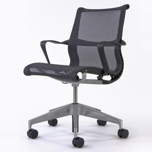Herman Miller Setu Chairs Tilt Dematerialization For Multipurpose Seating 5 Book Type Reborn Arm