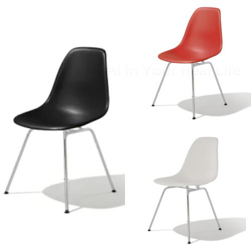 ハーマンミラー イームズ シェルサイドチェア Herman Miller Eames Shell Chairs DSX【送料無料】_dp05