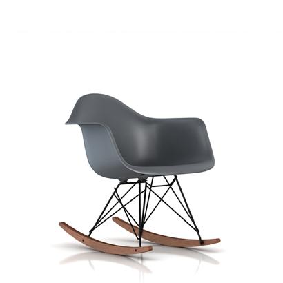 E10-0 Herman Miller ハーマンミラー Eames Shell Chairs イームズ アームシェルチェアRAR/ロッカーベース(ウォールナット)/ブラック RAR.BKOUZA【送料無料】_dp05