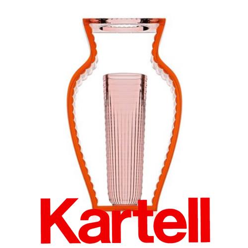 【クーポン発行中】Kartell (カルテル) I SHINE フラワーベース/ピンク ISH-1215-E9 アイシャイン ●