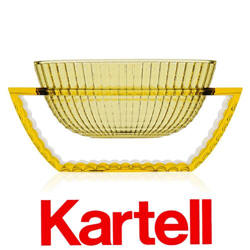Kartell (カルテル) U SHINE ベース/イエロー USH-1218-E1 ユーシャイン フラワーベース ●_dp20