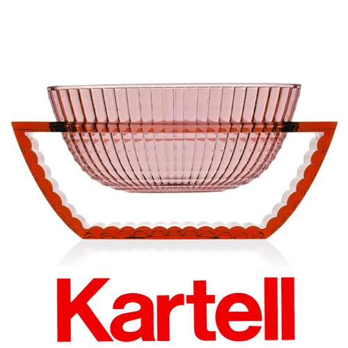 【クーポン発行中】Kartell (カルテル) U SHINE ベース/ピンク USH-1218-E9 ユーシャイン フラワーベース ●