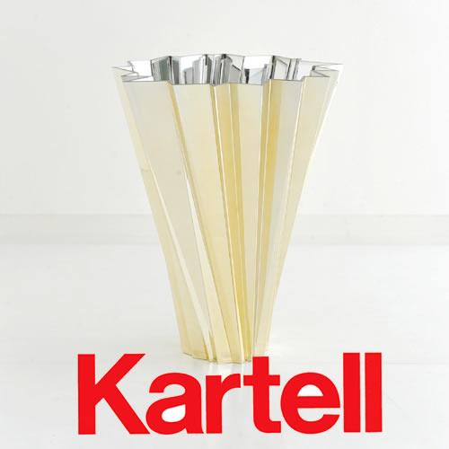 Kartell(カルテル)SHANGHAI シャンガイ/フラワーベース/ゴールド SHAN-1239-GG/PreciousKartell(プレシャスカルテル) ●_dp15