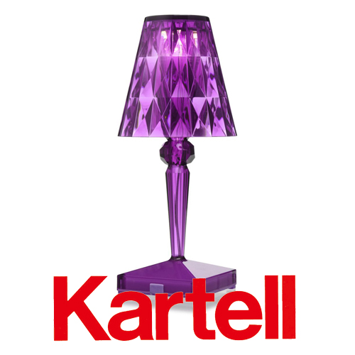 Kartell(カルテル)Battery バッテリー/プラム W9140-PR ●_dp15