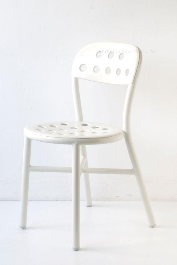 マジス パイプチェア アーム無 ホワイト MAGIS Pipe Chair SD1000-5107 ジャスパーモリソン JasperMorrison _dp20 母の日 お彼岸 暑中見舞い ホワイトデー 新学期 開業祝