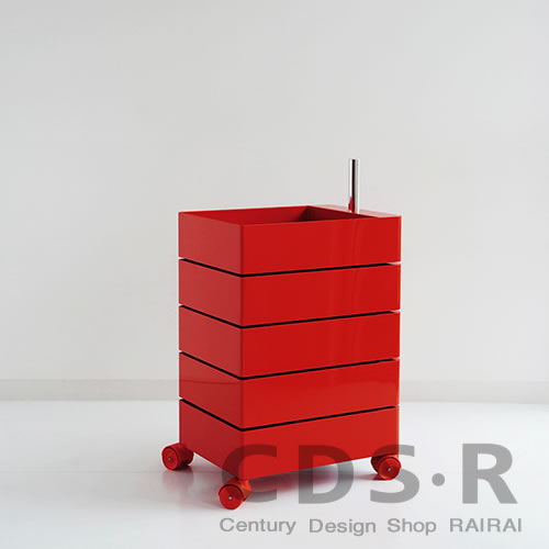 M-139 MAGIS Magis 360 ° container / 5-stage (H72) Red AC250-1120C storage drawers and casters with _dp10  sc 1 st  Rakuten & cds-r | Rakuten Global Market: M-139 MAGIS Magis 360 u0026deg; container ...