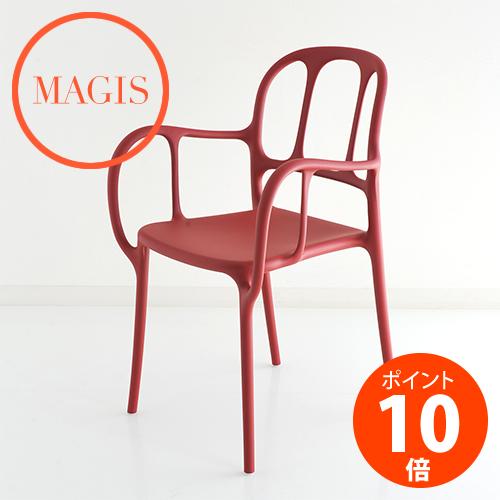 MAGIS (マジス) Mila ミラ チェア SD2100-1484C レッド ハイメ・アジョン_dp10