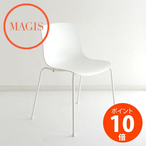 MAGIS (マジス) TROY 4Legs トロイ 4レッグス SD2382 ホワイト アームなし 塗装脚 マルセル ワンダース_dp10