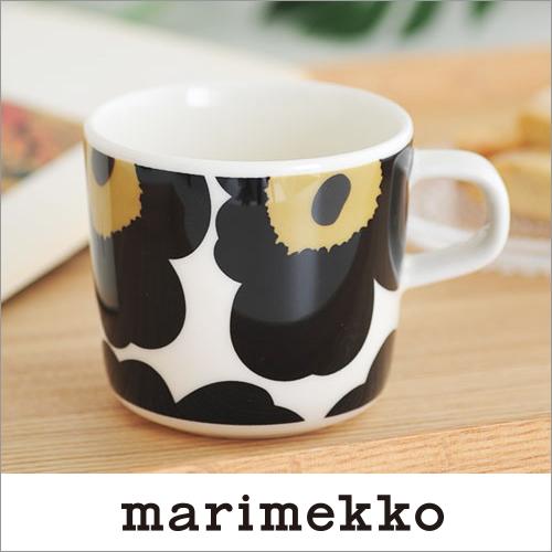 Marimekko Silkkikuikka シルッキクイッカ Coffee Cup Without Handle Sublimate Latte Mugs Small White X Black