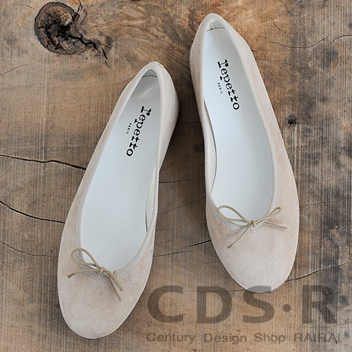 【ケア用品プレゼント!】repetto Ballerina Cendrillon Haute ゴートスキンスエード バレエシューズ Monkey(11374/86/V374CV)レペット_dp10