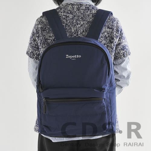 repetto Symbole Backpack シンボルバックパック(00310/39/B0310NP)ミッドナイトブルー レペット_dp15