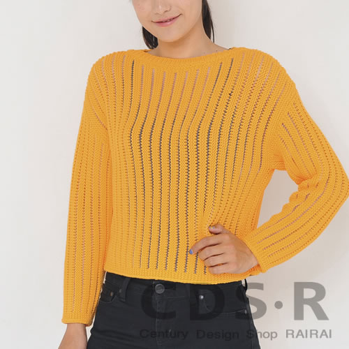 【M5】【セール 25%OFF】repetto Fancy 3Dニットセーター 55(Lion yellow)イエロー Sサイズ(00627/55/W0627)レペット_dp10_n_RS25