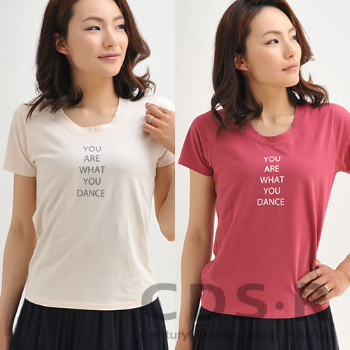 repetto YOU ARE WHAT YOU DANCE ロゴ半袖Tシャツ レペット [50451/S0451]_dp10