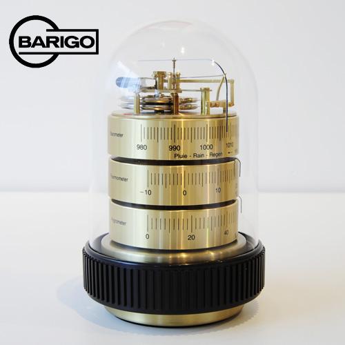 BARIGO バリゴ 温湿気圧計 ドーム型/ゴールド BG3025_dp10